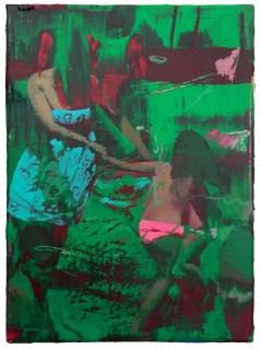 Giuseppe Gonella, Dizziness 2013 acrilico su tela, 30 x 40 cm