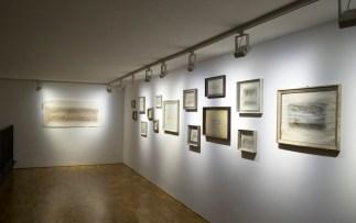 Enrico Tealdi, Era un piccolo mondo e si teneva per mano, veduta della mostra installata, courtesy galleria Effarte