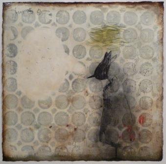 IL VICOLO, Mirko Baricchi, Circus#1, 2013, tecnica mista su carta, cm 34x34. START Genova 2013