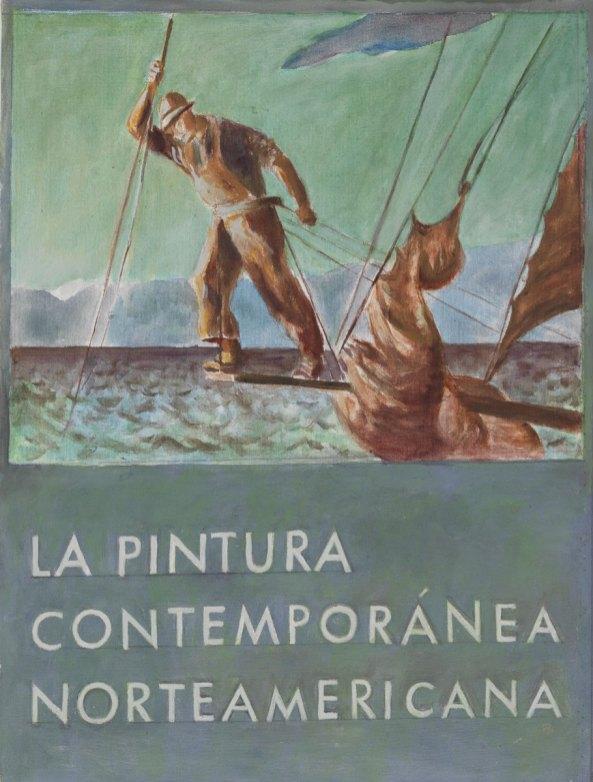 La pintura contemporanea norteamericana, 2003, acrilico su tela, cm 54x41, Collection of the Museum of American Art, Berlin Courtesy P420, Bologna e Museum of American Art, Berlin