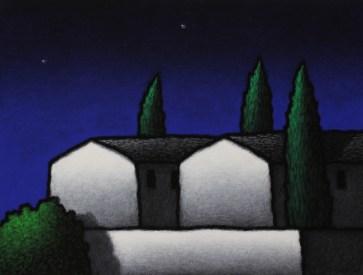 Tino Stefanoni, Senza titolo, 2011, acrilici su tela, cm 32x42
