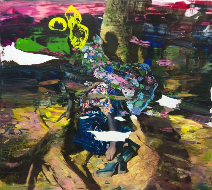 Giuseppe Gonella, Untitled 2013, acrilico su tela, 180 x 200 cm