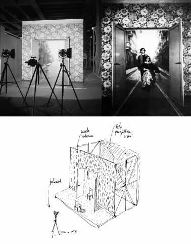 Artisti nello spazio: Ugo La Pietra, Interno-esterno, Triennale, 1979