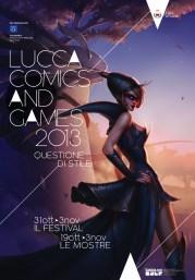 Lucca Comics & Games, manifesto 2013