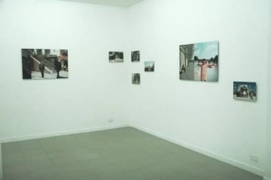 veduta della mostra Gea Casolaro, Still here, , courtesy The Gallery Apart, Roma