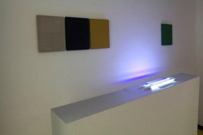 Matteo Fato & Alberto Zanchetta, veduta della mostra, PERSONALE (2/2) La pittura è cosa naturale, Artcore, Bari