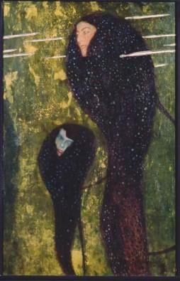 Gustav Klimt Silberfische (Nixen) (Pesci d誕rgento (Ninfe)/Silverfish (Water Nymphs)), 1902 olio su tela/oil on canvas 82x52 cm Albertina, Wien - In comodato permanente da Bank Austria/ On permanent loan from the Bank Austria
