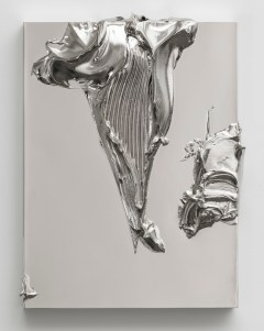 Jason Martin, Pymp, 2013, Nickel 41 x 31.5 x 9 cm, © the artist; Courtesy, Lisson Gallery, London
