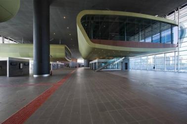 Interno, Stazione Tiburtina, Roma Studio ABDR