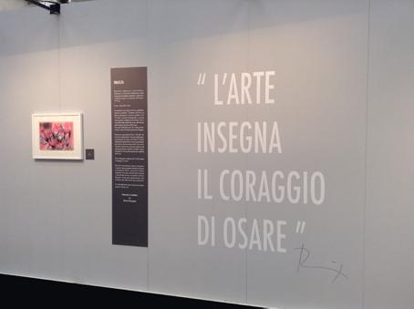 Renzo Bergamo, mini-personale, all'interno di Restart show, Fiera Immagina, Reggio Emilia