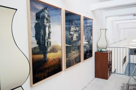 Barbara Nati. Unpredictable Trees, veduta della mostra, The Format Contemporary Culture Gallery, Milano