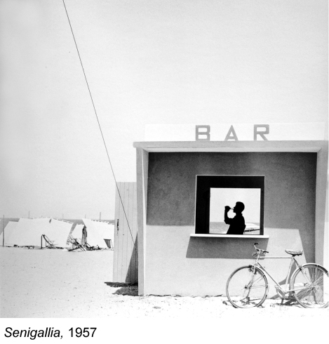 Piergiorgio Branzi, Senigallia, 1957