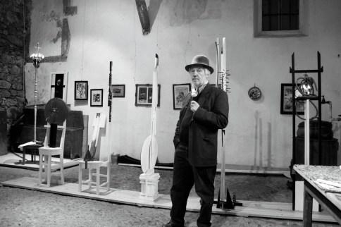Ritratto di Franz Pichler Foto Werner Masten