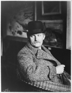 Edvard Munch all'Associazione degli artisti di Kristiania, 1912 Foto Andres B. Wilse, copia negli archivi del Munch Museet, © The Norwegian Museum of Cultural History