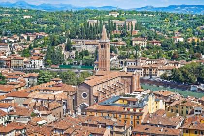 Veduta di Verona dalla Torre dei Lamberti Foto Lorenzo Ceretta