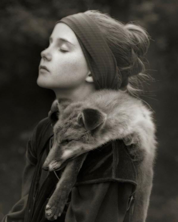 Beth Moon, Path of the Fox 2, stampa al platino palladio cm.76x56 edizione 25 ex.
