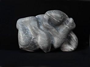 Senza titolo, 1947-2013, marmo Versilys 50 x 30 x 32 cm