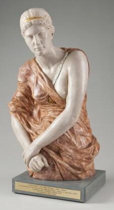 Max Klinger, Kassandra, 1895, Marmorino Merano (BZ), Collezione Siegfried Unterberger