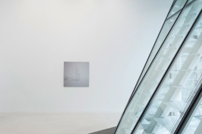 Ceal Floyer, Half Empty (1999), installation view at Museion, 2014. Foto Luca Meneghel, courtesy the artist and Lisson Gallery, London © the artist and VG-Bildkunst