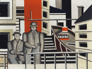 Fernand Léger, Animated Landscape, 1924, olio su tela, 49.53x65.07 cm, Philadelphia Museum of Art © Fernand Léger by SIAE 2014