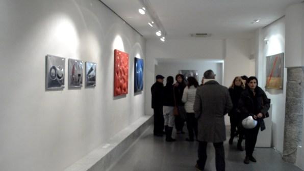 Franco Mazzucchelli, Omaggio all'aria, Inaugurazione da CerrutiArte, foto di Simone Savina