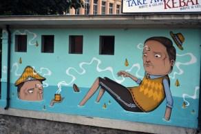 Seacreative, Wall drawing, 2012, Lugano
