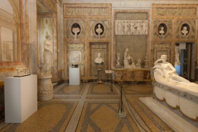 Giacometti. La Scultura, Galleria Borghese, Roma - veduta della Sala Paolina