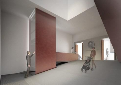 Atrio del nuovo ingresso del Museo degli Innocenti, crediti IPOSTUDIO