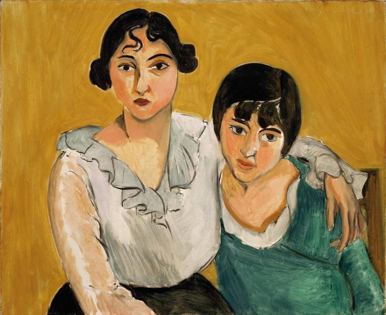 Henri Matisse, Le due sorelle, 1917, olio su tela, 78.4x91.4 cm, Denver Art Museum Collection © Succession H. Matisse by SIAE 2013