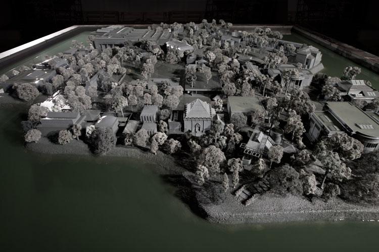 Alfredo Jaar, Venezia, Venezia, Pavilion of Chile, 55th Mostra Internazionale d'Arte della Biennale di Venezia, 2013, modello di Marco Galofaro / modelab Foto di Agostino Osio
