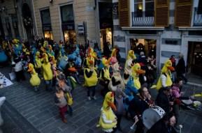 Costumi di Carneval spettacolo Ghemme per la parata di Lupo Alberto a Genova