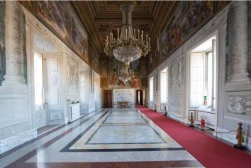 Galleria Alessandro VII Chigi, Palazzo del Quirinale, Roma