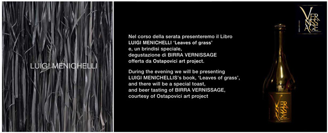 INVITO, Luigi Menichelli - Birra Vernissage