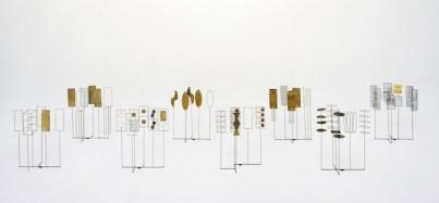 Fausto Melotti, Tema e variazioni I 1968 Ottone, 40 x 33 x 14 cm. Collezione privata, Milano