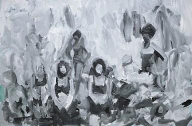 Gianluca Capozzi, Untitled, 2013, Acrilic on linen, cm 60 x 45