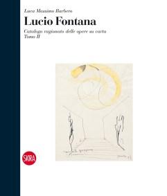 Tomo 2 in copertina: Lucio Fontana, Ambiente spaziale per la IX Triennale di Milano, 1951, china gialla e nera su carta, 29x23 cm