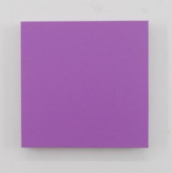 Sonia Costantini, FB13-10 violetto cobalto chiaro, 2013, olio su tela, cm 40x40