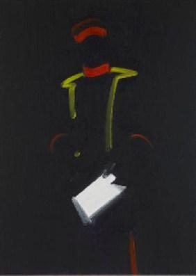 Michael van Ofen, Signifier and Décor of Political Power in «Porträt Constantin von Alvensleben auf dem Schlachtfeld von Vionville», 1903, 2013, 164x115 cm, Collezione Maramotti, Reggio Emilia, Italy Courtesy Collezione Maramotti
