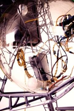 Duilio Forte, Homo Videomaticus, 2013, Ferro, vetro, Raspberry Pi