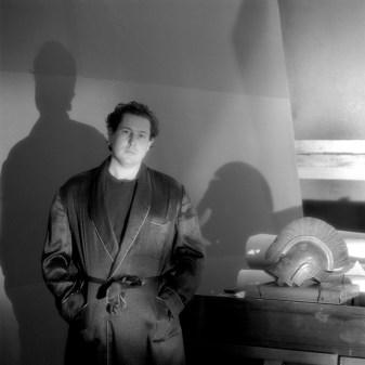 Jeannette Montgomery Barron, Julian Schnabel, studio, NYC, 1984 © Jeannette Montgomery Barron