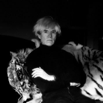 Jeannette Montgomery Barron, Andy Warhol, studio, NYC, 1985 © Jeannette Montgomery Barron