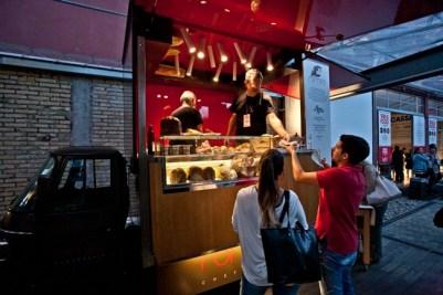 Ape_Romeo, progetto street del ristorante/forno