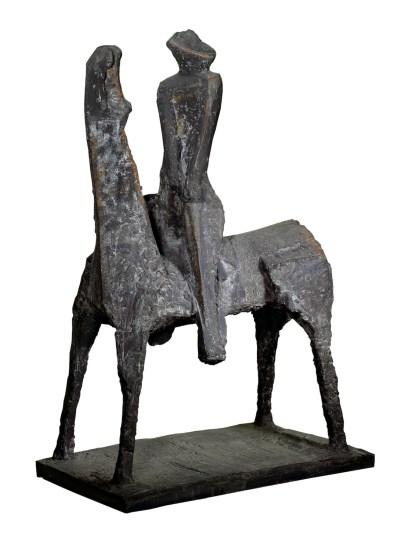 Marino Marini, Idea del Cavaliere, 1955, bronzo, Museo del Novecento, Milano