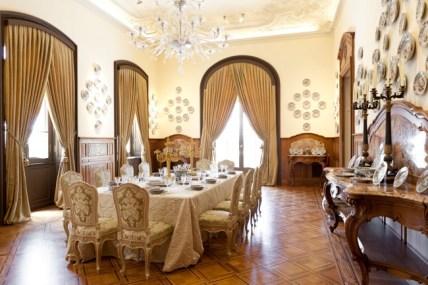 Sala da Pranzo, Villa Regina Margherita, Bordighera (Imperia)