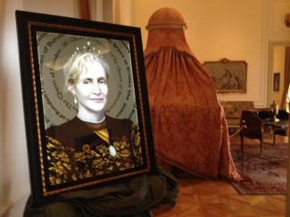 Mataro Da Vergato, The queen of bunden, allestimento a Villa Margherita, Bordighera, (Imperia)