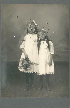L'orMa, Brothers, 16,5x10,5cm_intervento manuale su fotografia antica