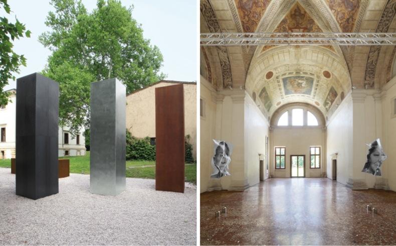 Arte Contemporanea a Villa Pisani, Nicola Carrino Arcangelo Sassolino, Villa Pisani Bonetti, Bagnolo di Lonigo (VI) (particolare dell'invito)