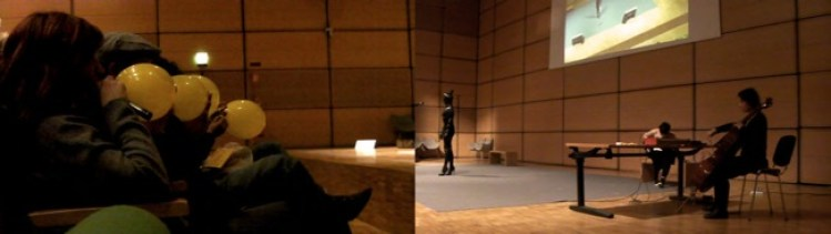 Tiziana Contino, Concerto per rabbia, perfomance 2012, Arte Accessibile Milano version, performance interattiva partecipativa, dimensioni ambientali.