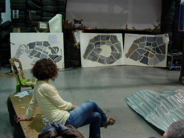 Federica Falancia e Rita Deiola, Fefa Ride (ItalianMerzBau/Spostare il silenzio), 2014, Palais de Tokyo, Parigi