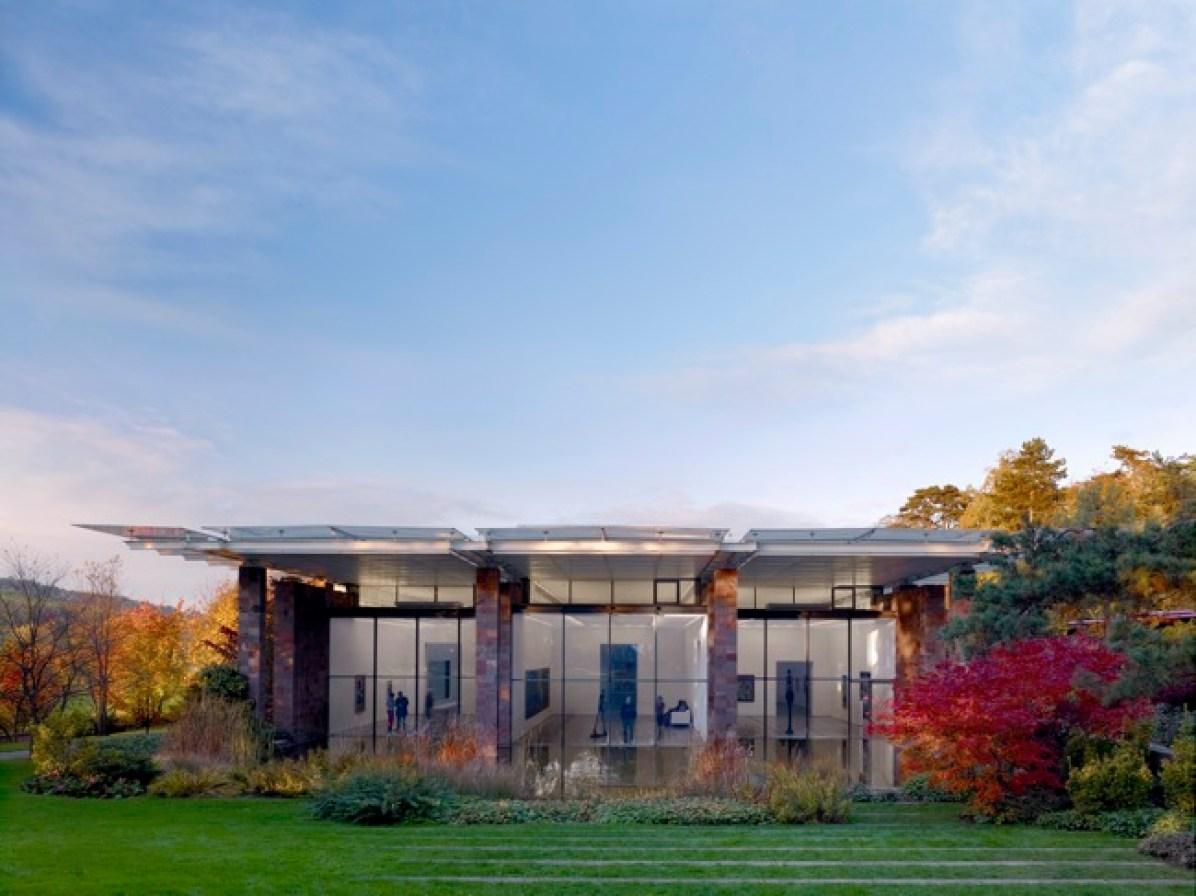 La Fondazione Beyeler, progettata da Renzo Piano, foto di Mark Niedermann